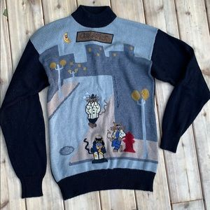 Vintage sweater cool cats U.S polo assn
